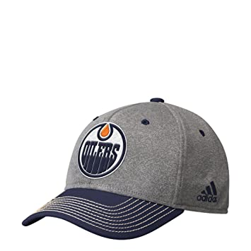 fb51c5d1428 adidas NHL Edmonton Oilers Structured Adjustable Cap