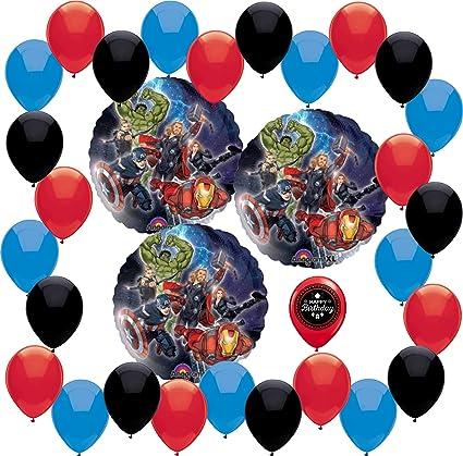 Amazon.com: Los Vengadores Happy globo de cumpleaños ...