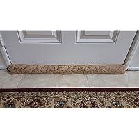 Door Draft Stopper - 37 Inches 1.4 Lbs - Heavy Duty Durable Bottom Seal Blocker - Bonus Storage Bag