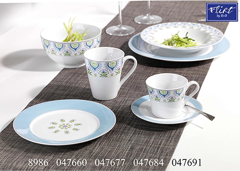 Porzellan Kaffeegedeck Service 047660 Ritzenhoff /& Breker Tunis Kaffeeservice 18-tlg.