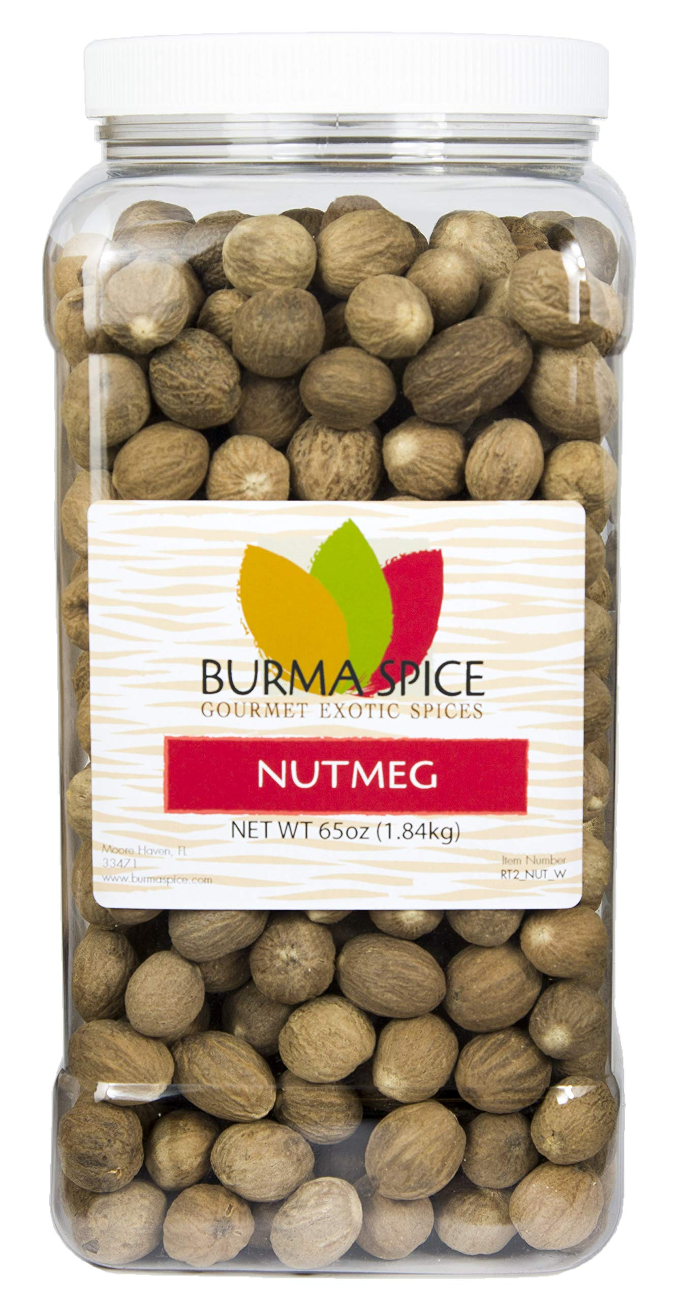 Whole Nutmeg (65oz.)