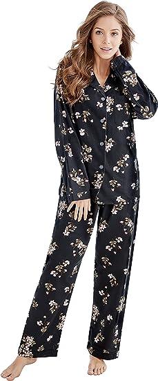 Cool Pyjamas All Day Heart Pink Black Girls Cotton Pyjamas