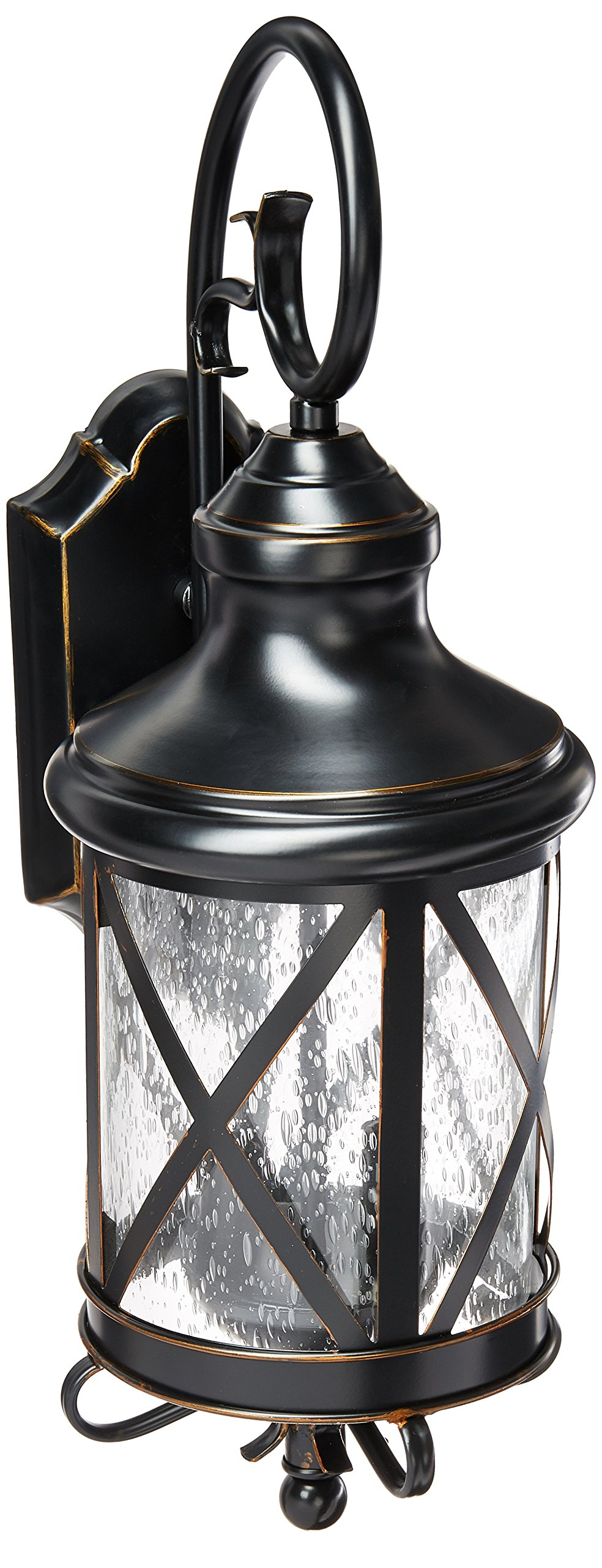 Trans Globe Lighting 5120 ROB Outdoor Chandler 19.5'' Wall Lantern, Rubbed Oil Bronze