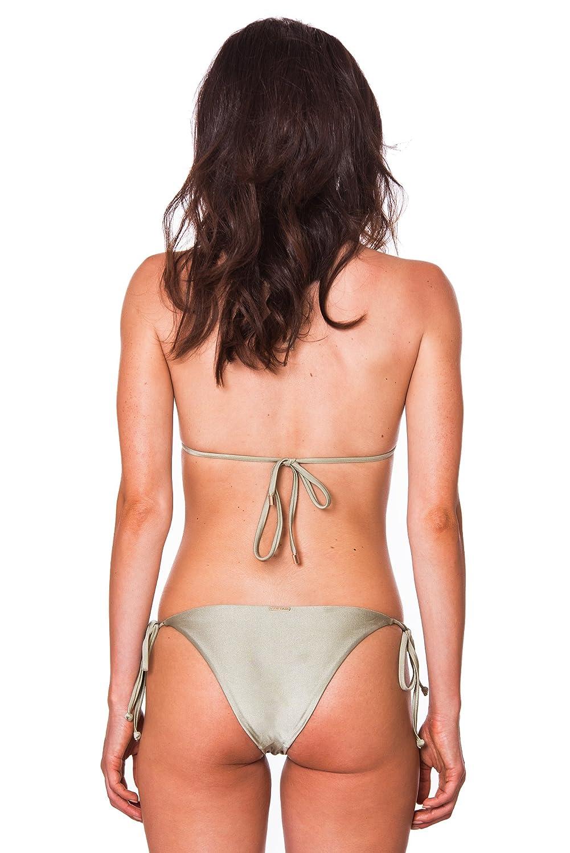 RELLECIGA Set Costume Donna Top Bikini a Triangolo con Laccetti