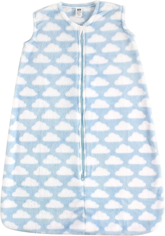 Hudson Baby Unisex Baby Safe Sleep Wearable Blankets with Plushy Cozy Fabric