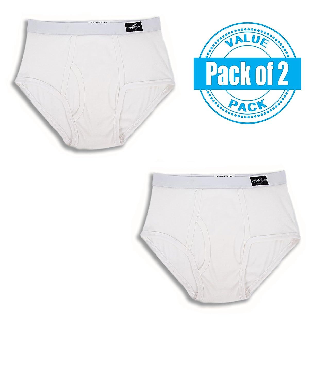 Andrew Scott Men's 2 Pack Big Man Classic Brief