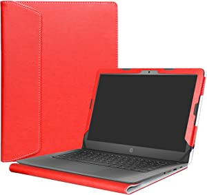 """Alapmk Protective Case Cover for 14"""" HP Notebook 14-bsXXX (Such as 14-bs153od)/14-bwXXX (Such as 14-bw010nr)/HP 240 G6/HP 245 G6/HP 246 G6 Laptop(Not fit 14-anXXX 14-amXXX 14-cmXXX Series),Red"""