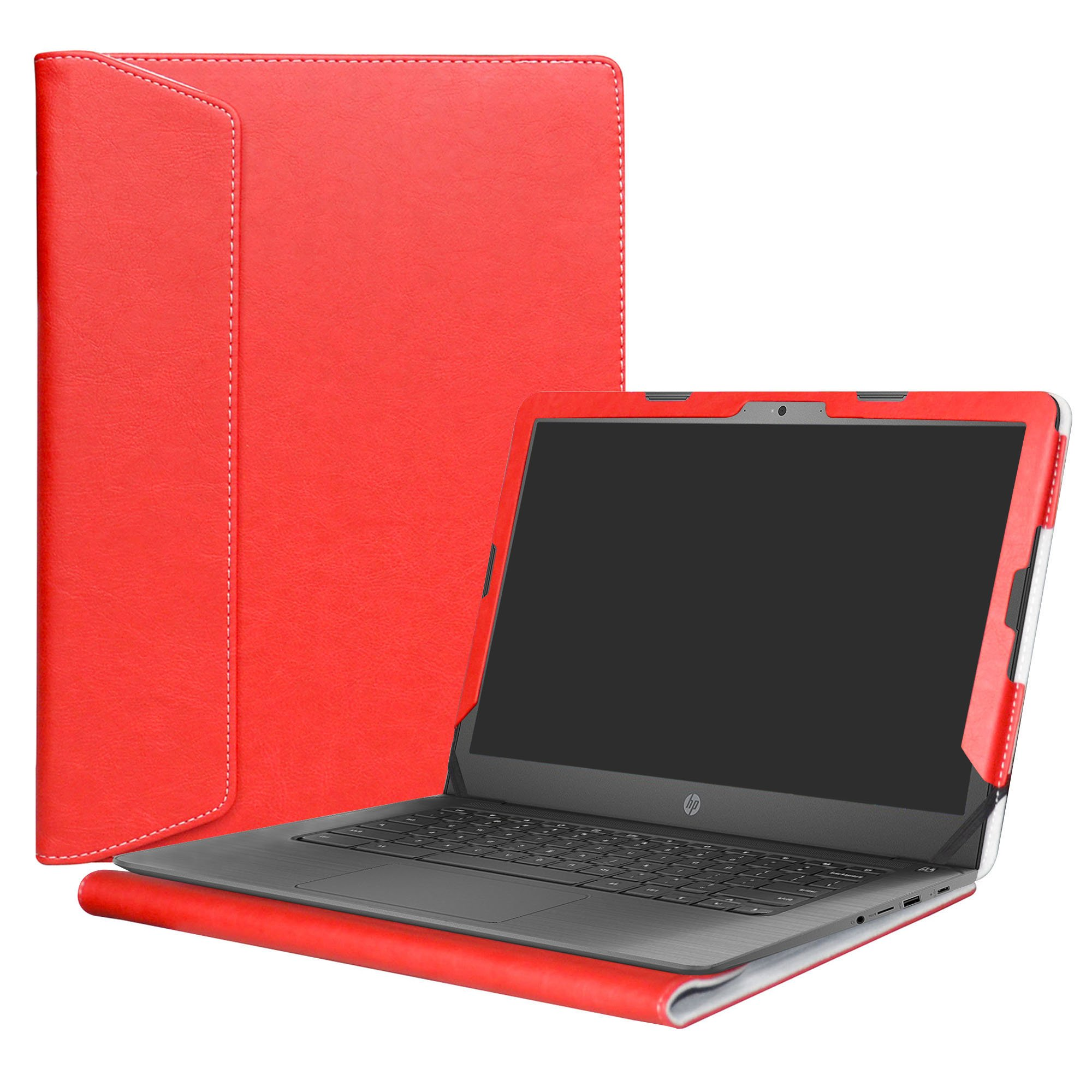Alapmk Protective Case Cover For 14'' HP Notebook 14-bsXXX (Such as 14-bs153od)/14-bwXXX (Such as 14-bw010nr)/HP 240 G6/HP 245 G6/HP 246 G6 Laptop(Not fit 14-anXXX 14-amXXX 14-cmXXX Series),Red