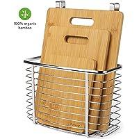 Homever 3-Piece Bamboo Cutting Board Set