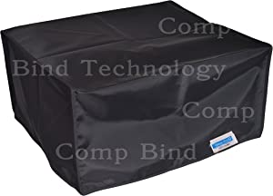 Comp Bind Technology Dust Cover for HP Laserjet Pro CP1525nw Laser Printer, Black Nylon Anti-Static Dust Cover, Dimensions 15.7''W x 17.8''D x 10''H