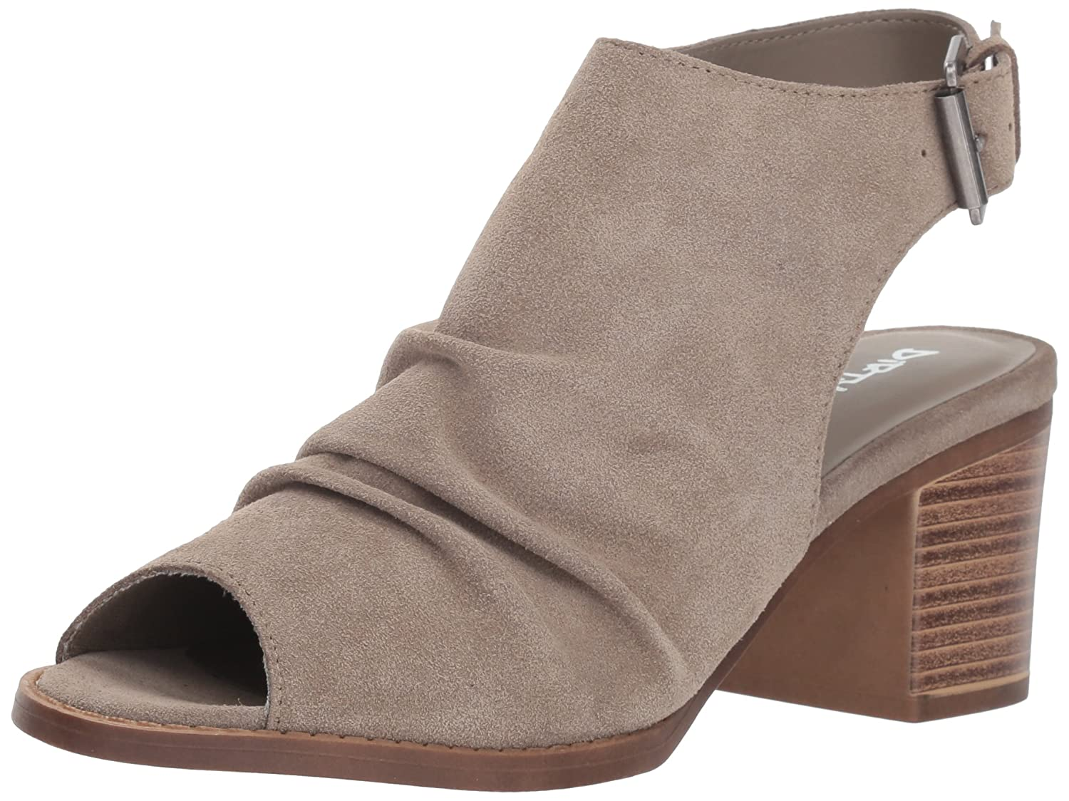 Dirty Laundry Women's Tena Ankle Boot B07BFF815P 6 B(M) US|Feather Grey Suede