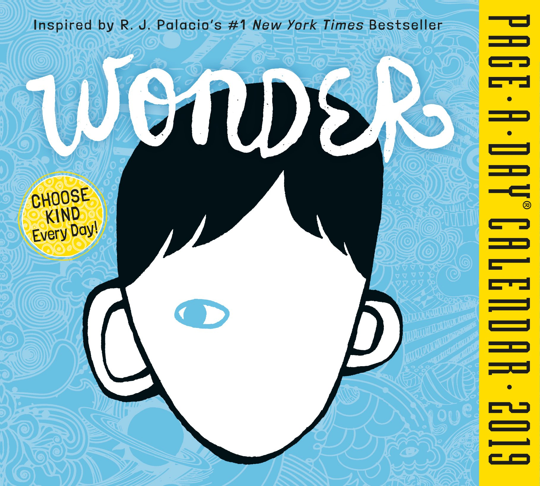Wonder Page-A-Day Desk Calendar 2019 [5.5'' x 6'' Inches] by 2019 Calendars (Image #1)