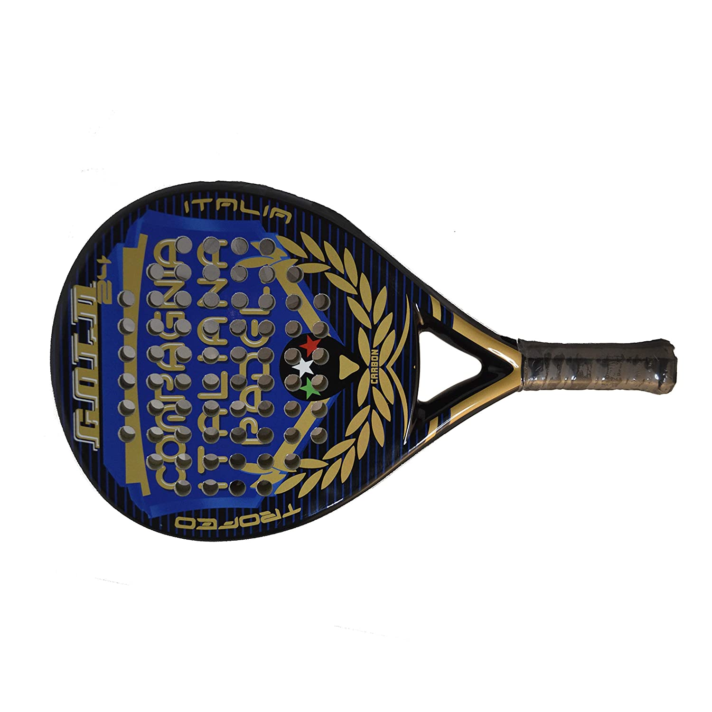 Pala de Pádel de Carbono Gold Trofeo: Amazon.es: Deportes y ...