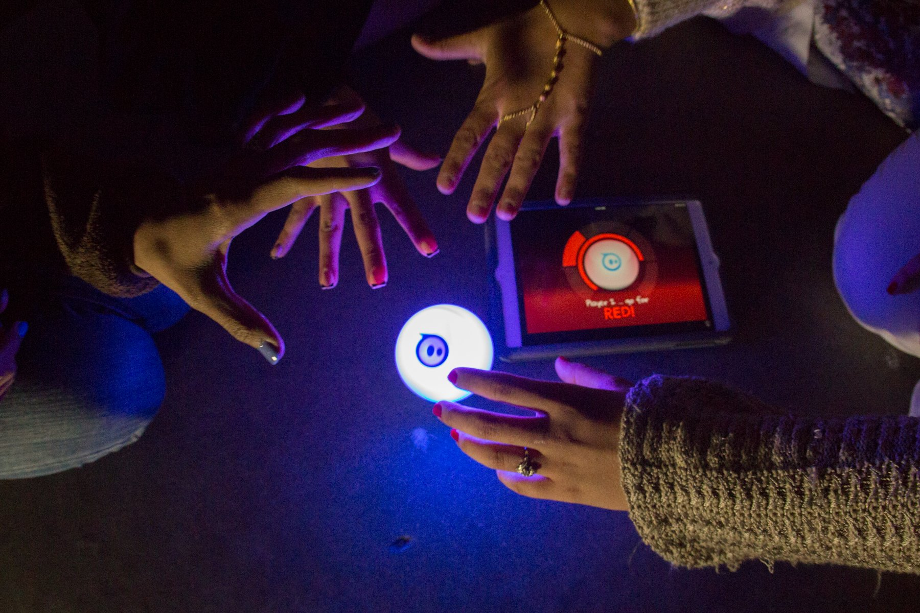 Sphero iOS and Android App Controlled Robotic Ball - Retail Packaging - White (Discontinued by Manufacturer) by Sphero (Image #19)