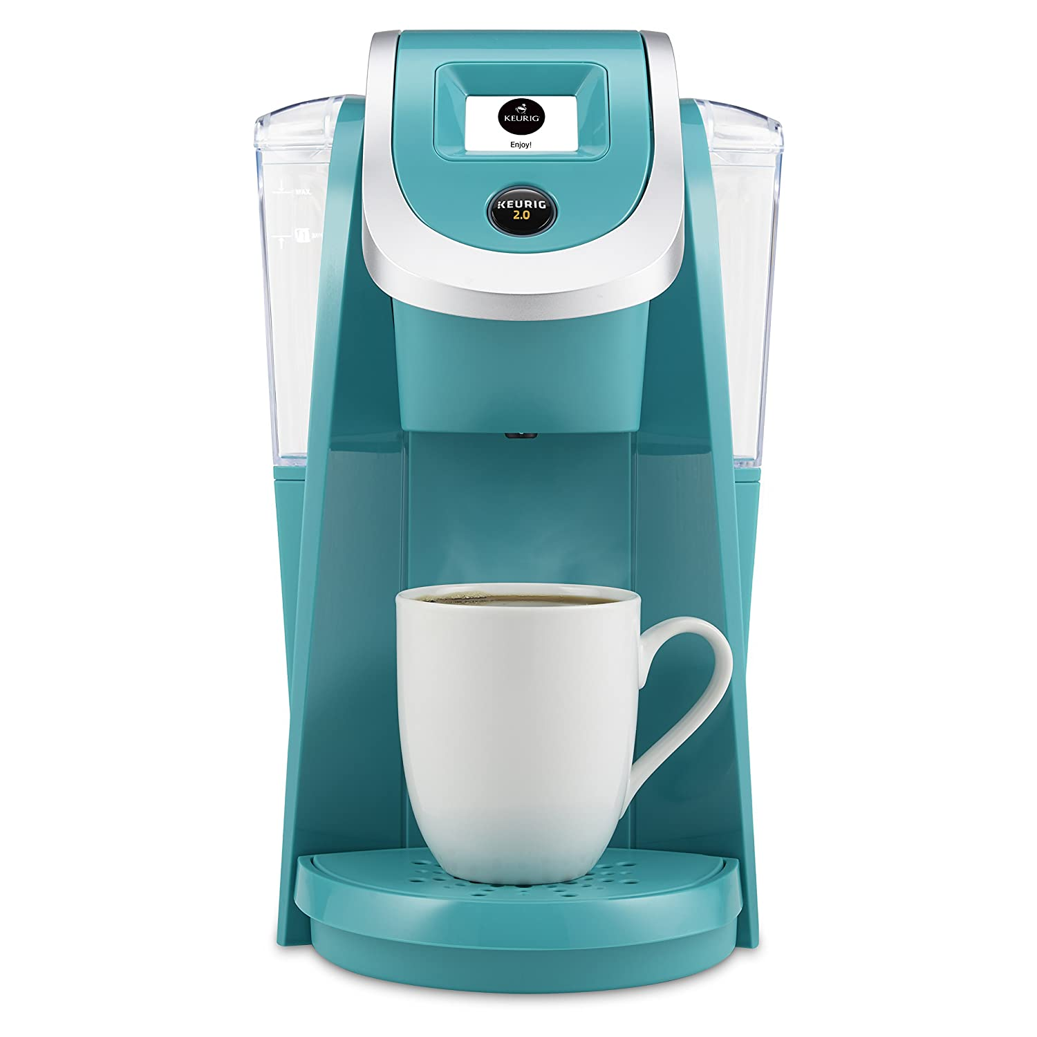 Keurig K250 2.0 Brewing System, Turquoise Discontinued