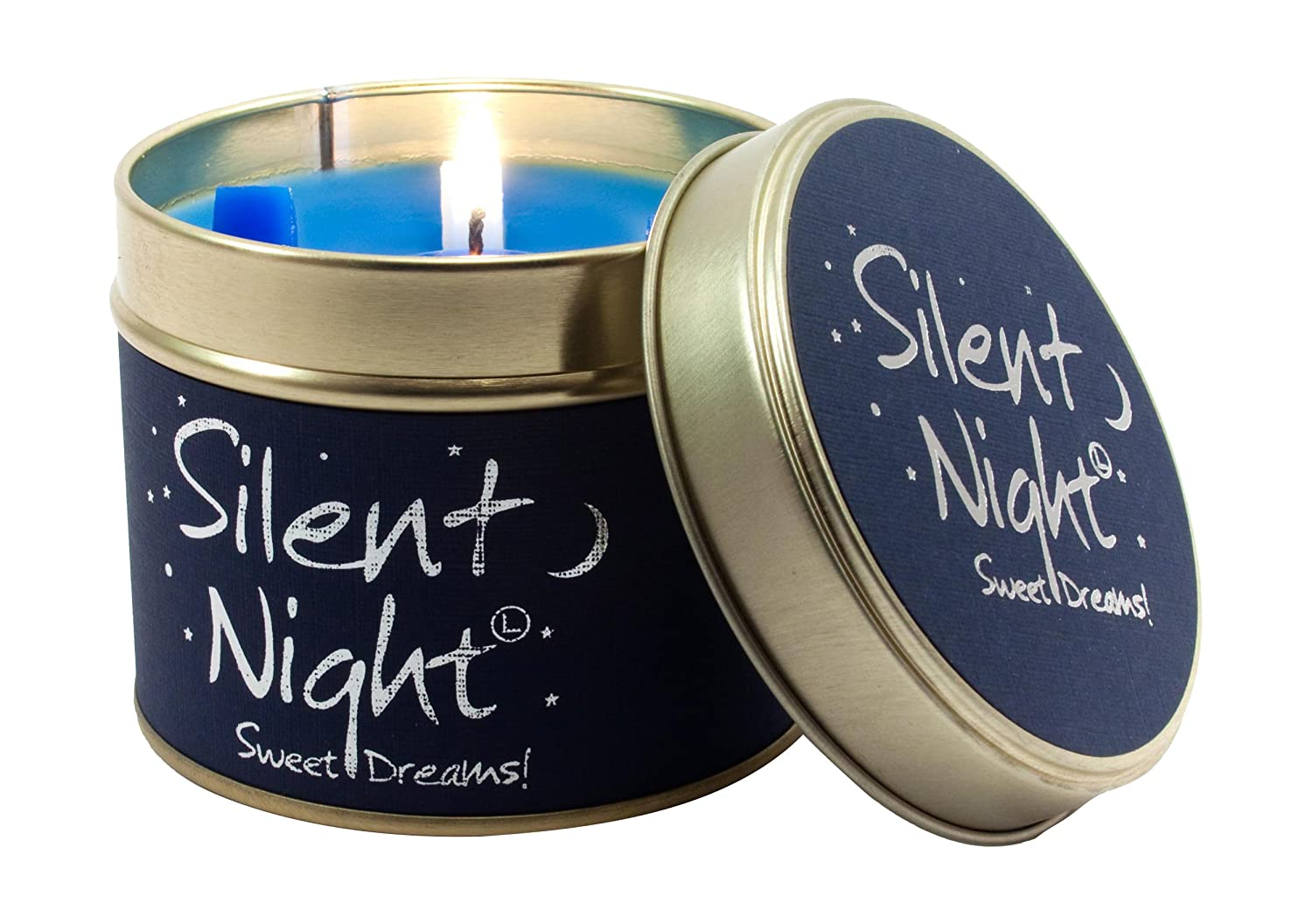 Lily Flame Scented Candle Tin - Silent Night B001HRO7HC