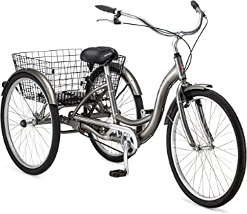Schwinn Meridian Adult Trike, Three Wheel Cruiser Bike