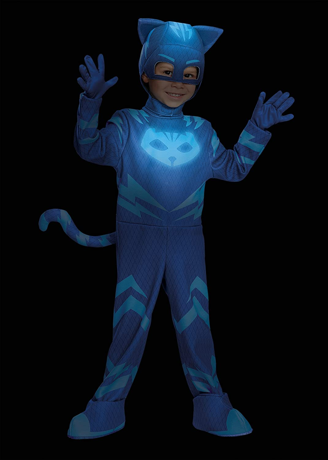 Disguise Catboy Deluxe Toddler PJ Masks Costume, Medium/3T-4T by Disguise: Amazon.es: Juguetes y juegos