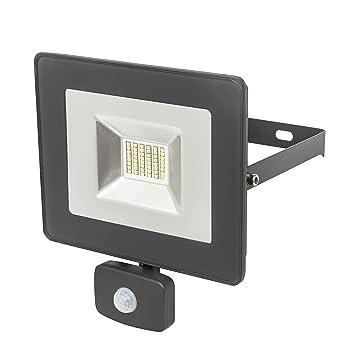 50W Outdoor Security Light Flood LED with PIR Motion Sensor Slimline Floodlight