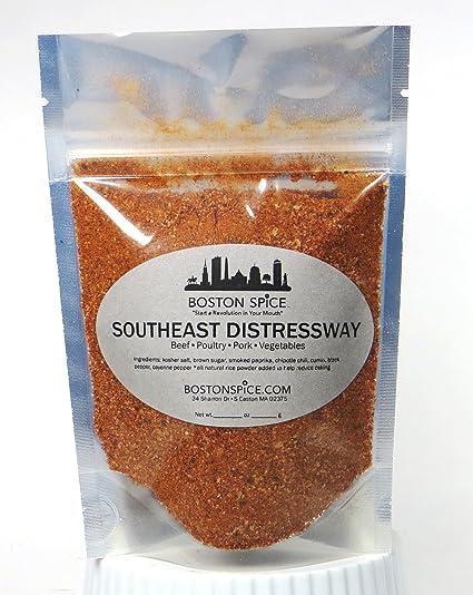 Boston Spice Sureste Distressway la parrilla la Condimento ...