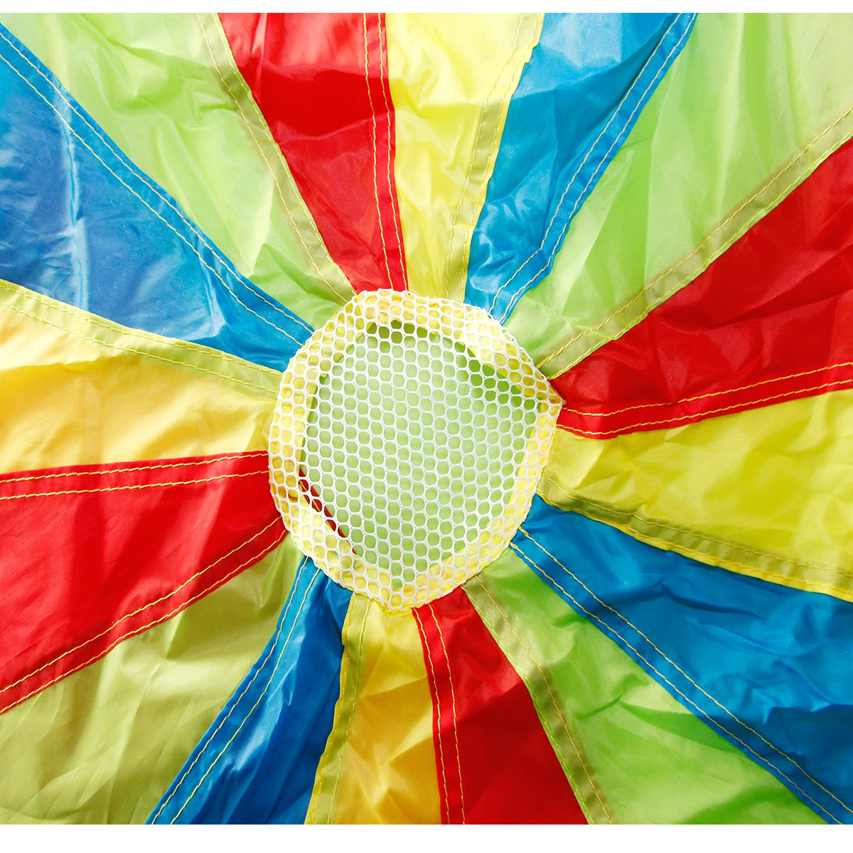 Sonyabecca Parachute, Play Parachute 20ft with 16 Handles for Kids Cooperation Group Play by Sonyabecca (Image #5)