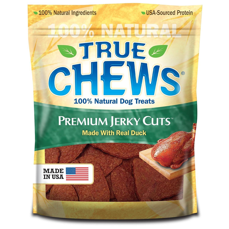True Chews Premium Jerky Cuts Dog Treats, Duck, 4 Ounce