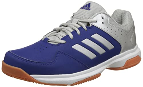 cheap for discount d903c bebeb Adidas Mens Quick Force Ind, Silvmt and Mysink Badminton Shoes-10 UKIndia
