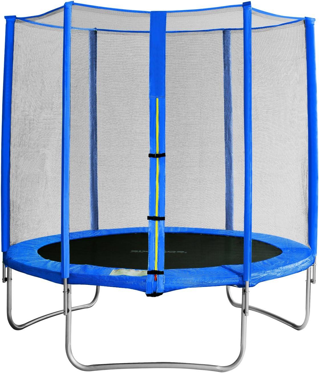 SixBros. SixJump 1,85 M Trampolín Cama elástica de jardín Azul ...