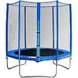 SixBros. SixJump 1,85 M Trampolino elastico da giardino blu TB185/1917
