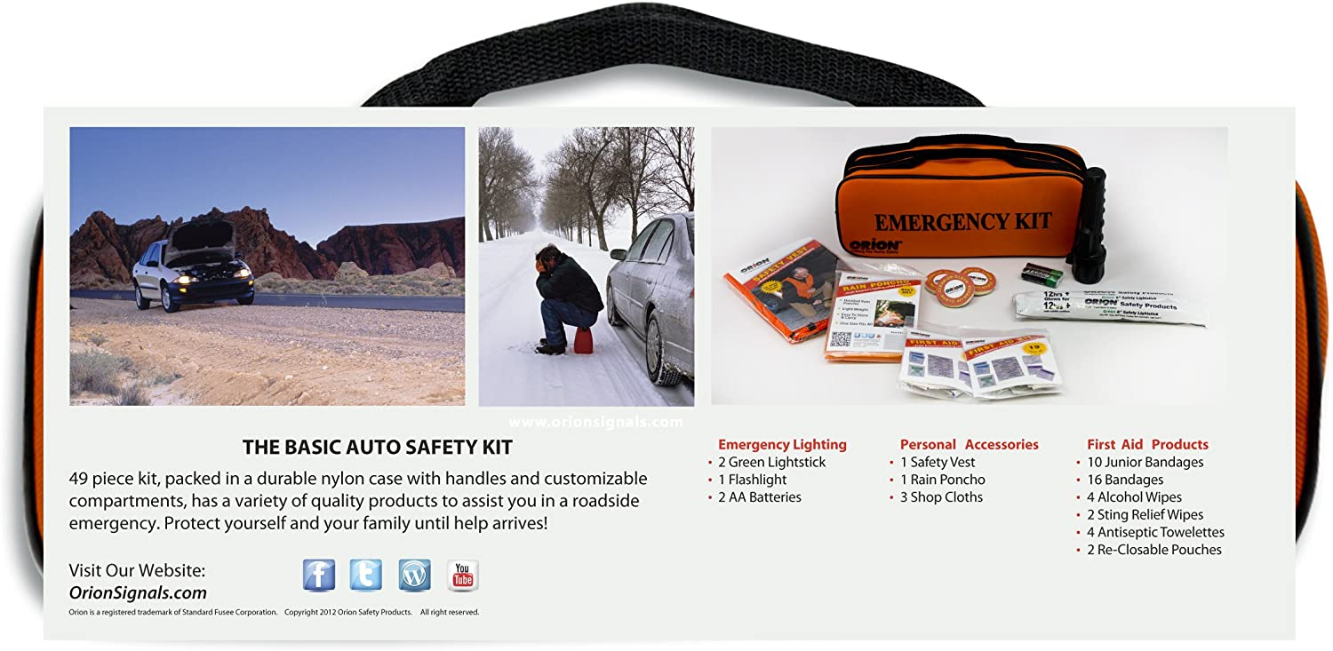 Orion Safety Products 8950 Auto Safety Kit