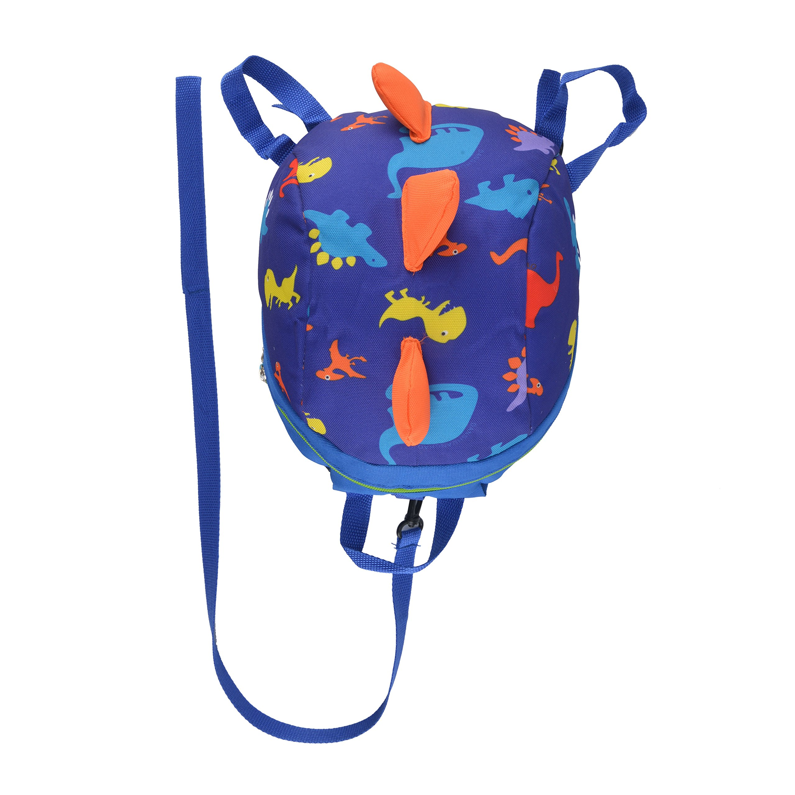 Baby Toddler Backpack Kids Safety Harness Strap Bag with Reins-Cartoon Dinosaur