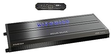 Hifonics Zeus Elite zex2050.4 4 Canal Amplificador 2000 Watts Clase A/B Gama