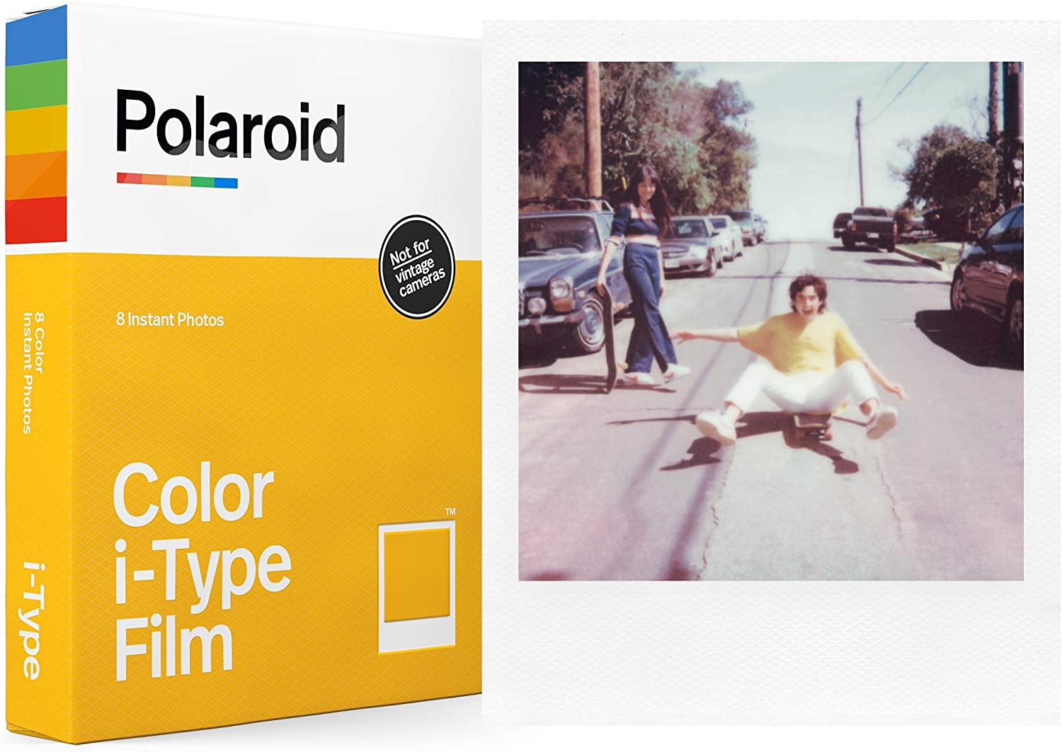 Polaroid Color Film for I-Type (6000)