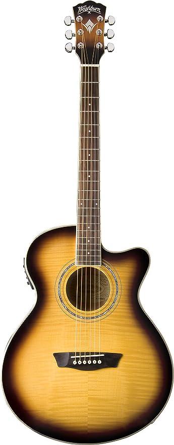 Washburn Festival Series EA15ATB Acoustic Guitar