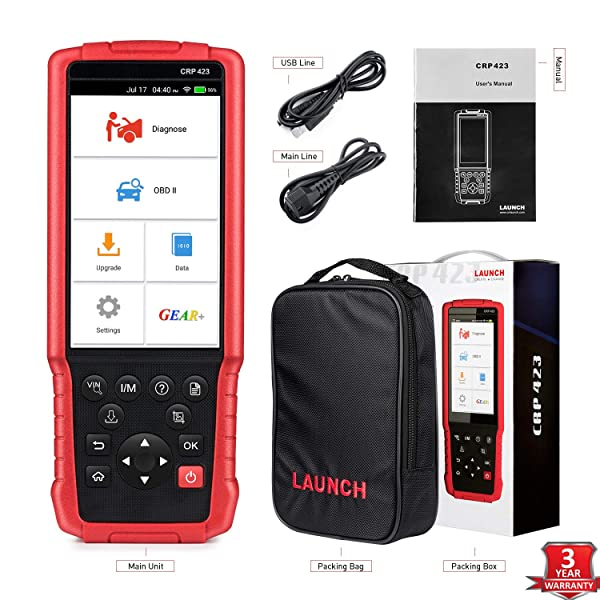 LAUNCH X431 CRP423 OBD1 Scanner.