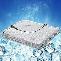 Luxear Manta para Sofás de Verano, Manta Fria Extra Suave con Japón Última Tecnología de Refrigeración Automática Manta…