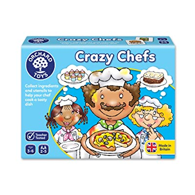 Orchard Toys Crazy Chefs Children's Game, Multi, One Size: Toys & Games