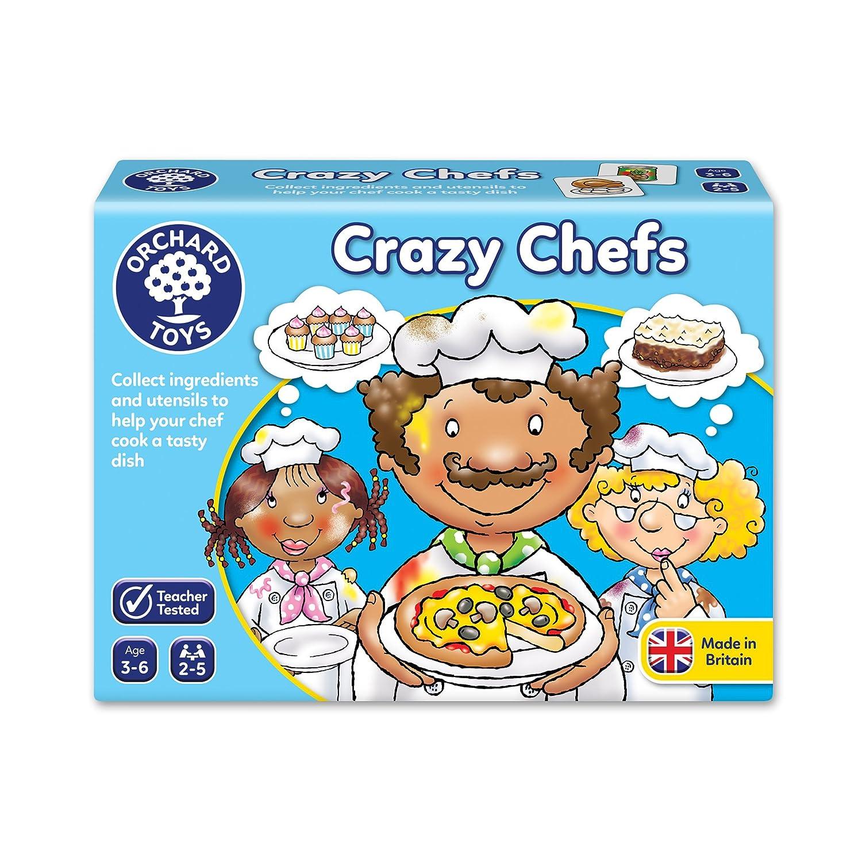 Amazon.com: Crazy Chefs Game: Toys & Games