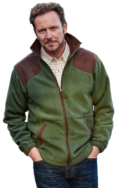 Sherwood Forest Chaqueta de Forro Polar de Hombre, Hombre, Color Verde, tamaño 3XL: Amazon.es: Deportes y aire libre