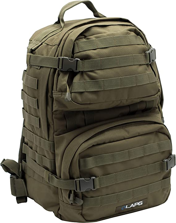 LA Police Gear 3 Day Tactical Backpack for Hunting