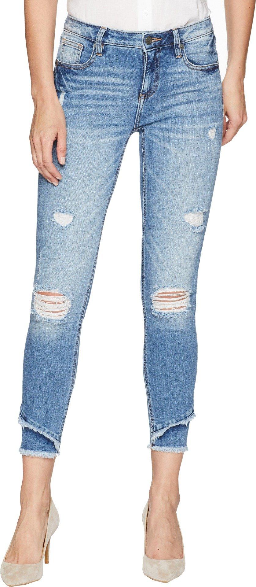 Miss Me Women's Mid-Rise Ankle Skinny Jeans in Denim Denim 28 27