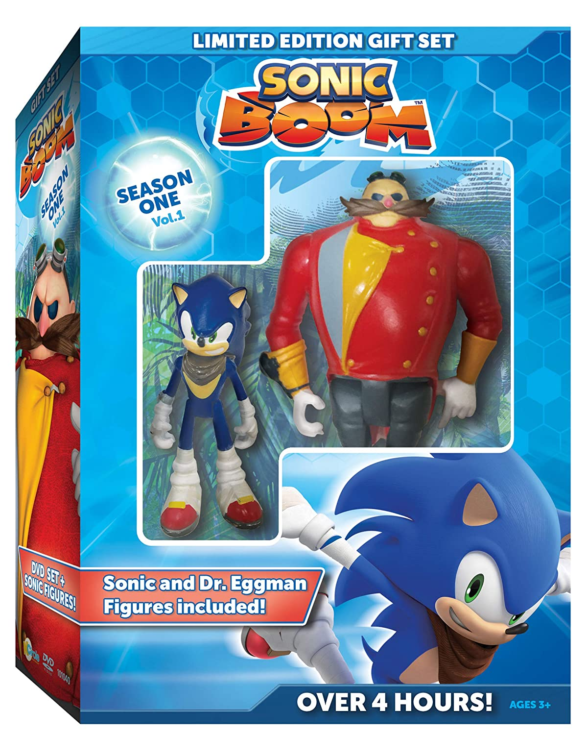 Amazon Com Sonic Boom Season One Volume One With Sonic And Eggman Figures Roger Craig Smith Natalys Raut Sieuzac Movies Tv