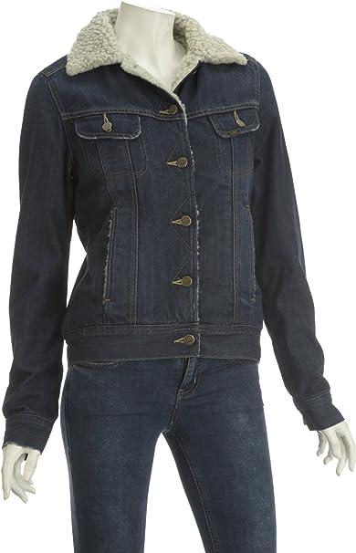 Lee Damen Sherpa Jacket Jacke: : Bekleidung