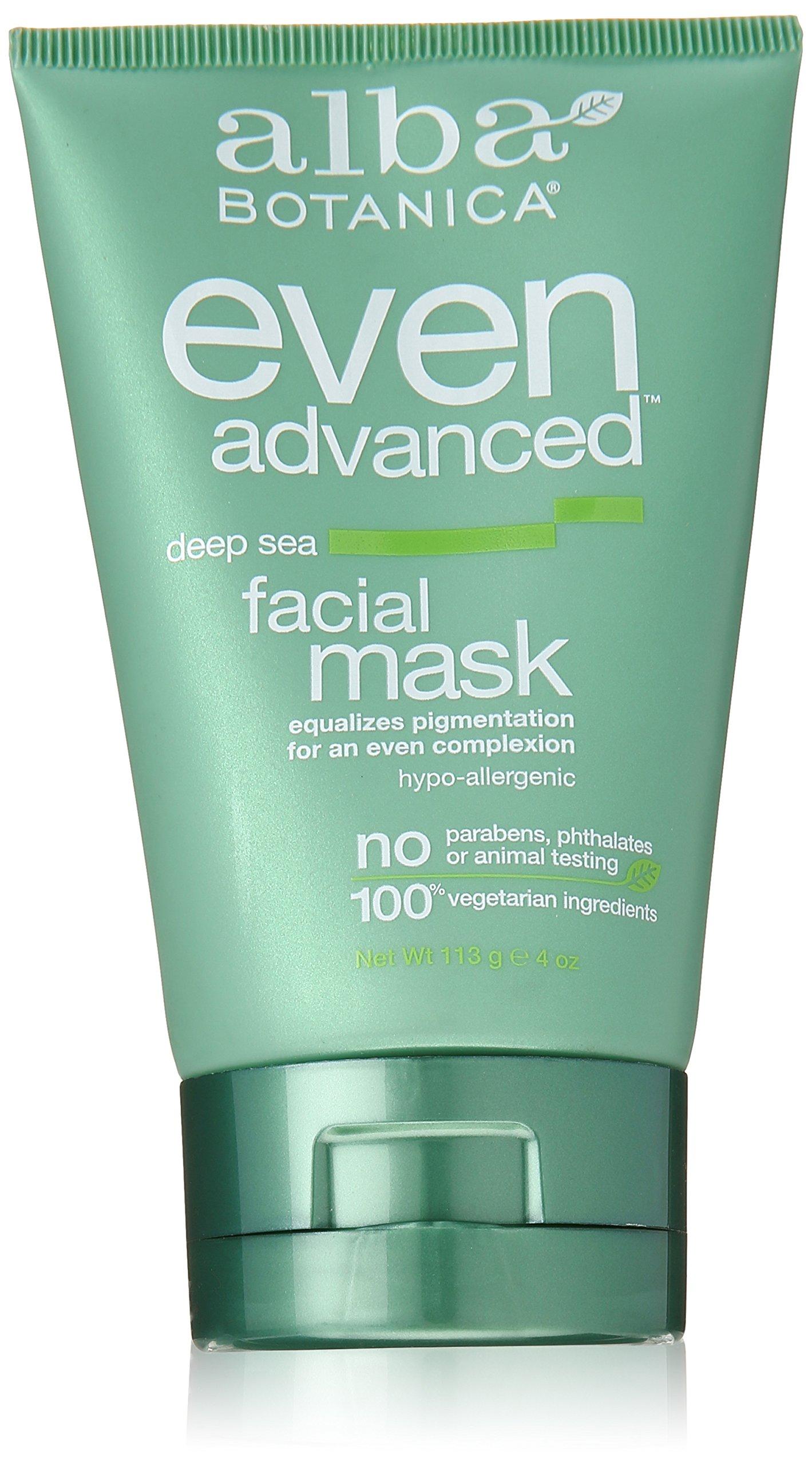 Alba Botanica Even Advanced, Deep Sea Facial Mask, 4 Ounce