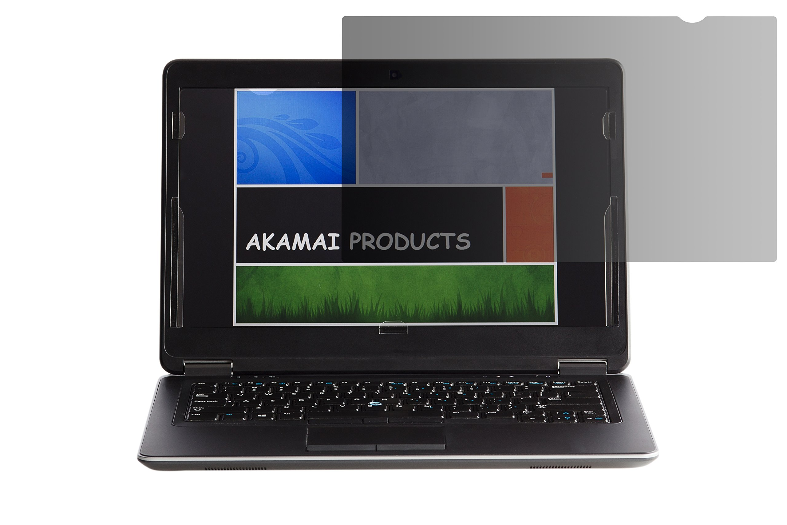 Akamai Office Products 13.3 Inch Privacy Screen for Widescreen Laptops (Diagonally Measured) - Anti Glare - PLEASE MEASURE CAREFULLY