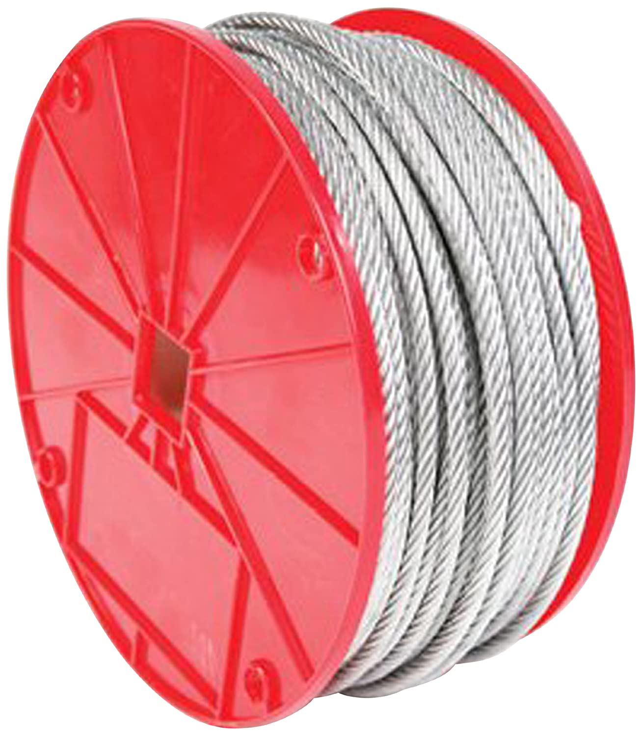 Amazon.com: Koch 002123 1/8 by 500-Feet 7 by 7 Cable, Galvanized ...