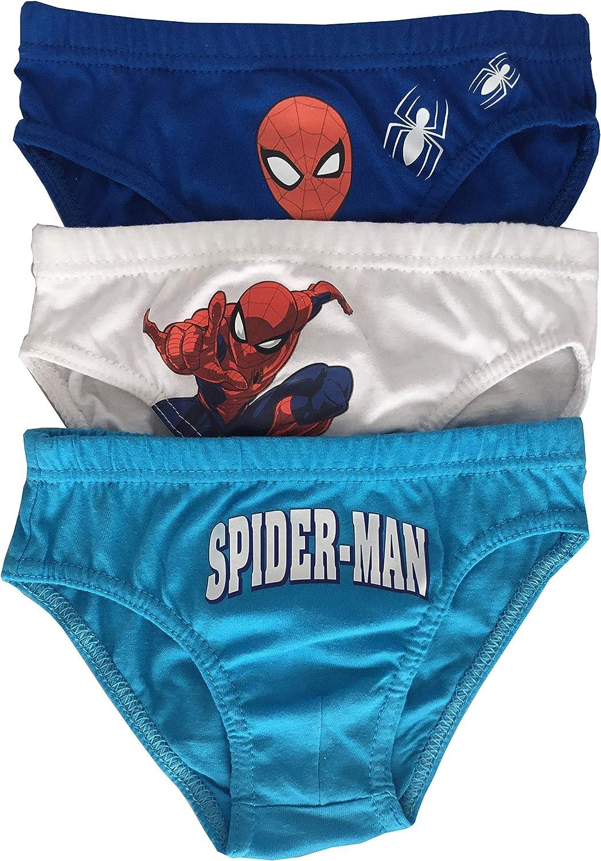 Spiderman Boys 5 Pack Underwear Briefs Pants Set