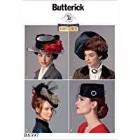 Butterick Patrones de Costura para Sombreros, Multicolor