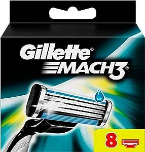 Gillette Mach3 - Pack de recambios de hojas de afeitar para hombre ...