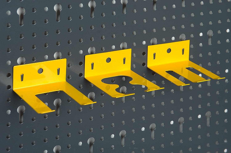 Set de crochets 120/x 60/x 1,5/cm vitaerc trois pi/èces outils mural en m/étal avec 17tlg env
